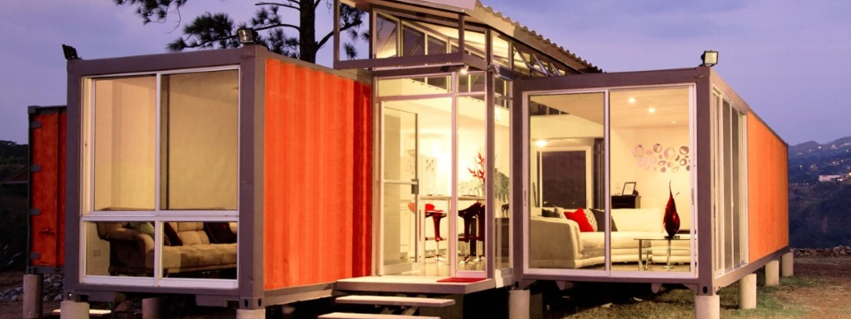 Container homes general contractor plan design construction for Maison avec des conteneurs