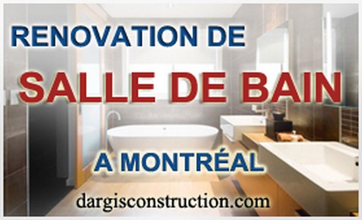 Entrepreneur en renovation de salle-de-bain a Montreal plan ...
