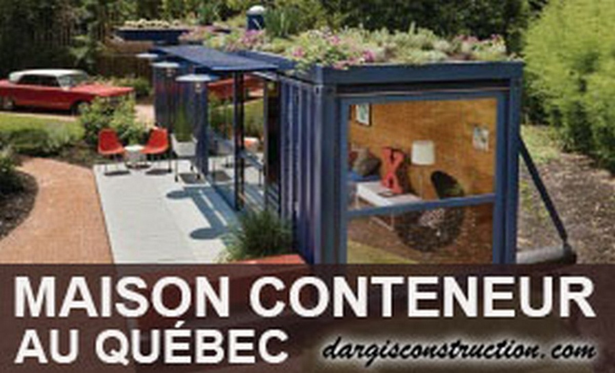 Maison conteneur entrepreneur general construction container plan