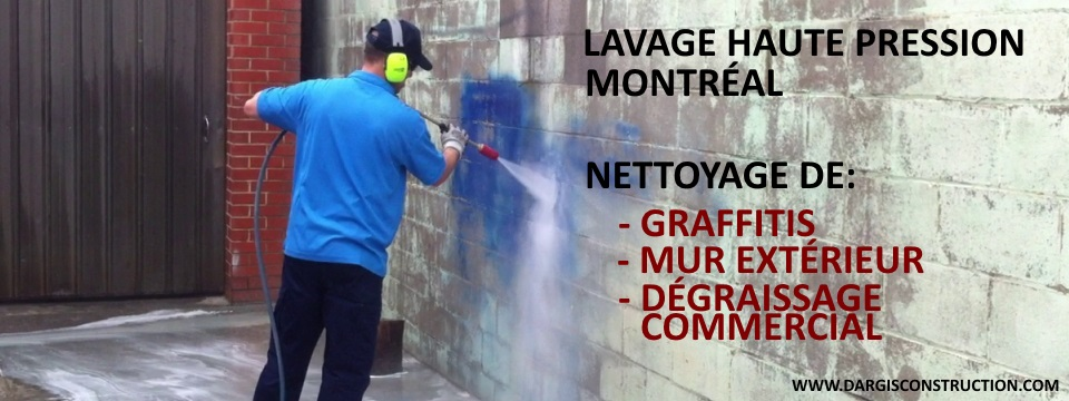 lavage haute pression montreal nettoyage de graffiti. Black Bedroom Furniture Sets. Home Design Ideas