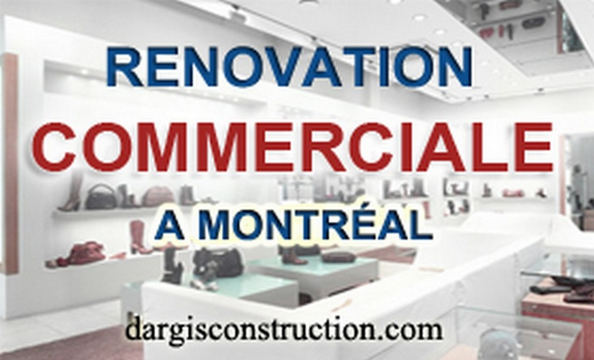 rénovation commerciale a Montreal