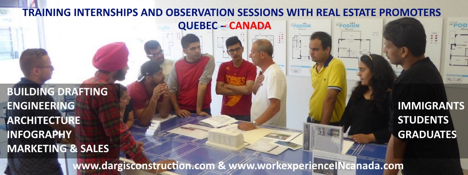 training internships observation in montreal quebec canada